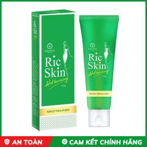 kem tan mỡ ric skin
