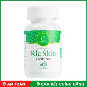 viên uống giải độc gan trị mụn ric skin cleannes