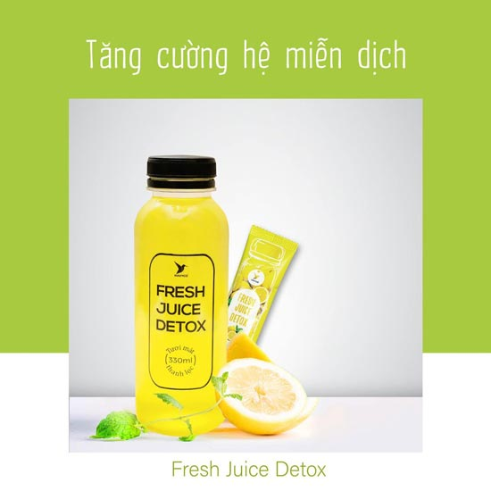 Nước ép fresh juice detox havyco